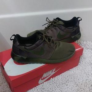 Olive Green Nike Sneakers